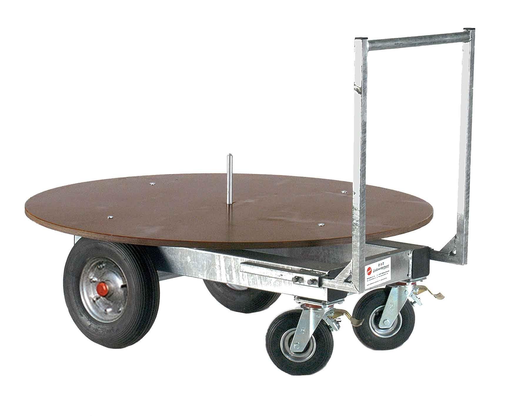 chariot foin pour balle rondes. Black Bedroom Furniture Sets. Home Design Ideas