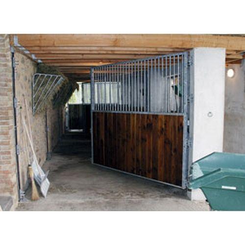s paration de box chevaux pivotante bois douglas. Black Bedroom Furniture Sets. Home Design Ideas