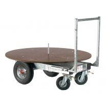 Chariot à foin pour balle rondes