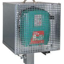 Boitier métalique antivol pour électrificateur