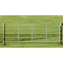 Portail de clôture d'herbage réglable