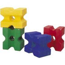 Cube d'obstacle en resine pour chevaux