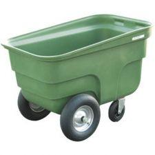 Chariot aliment 345 L, 2 roues gonflables + 2  pivotantes (1 freinée)