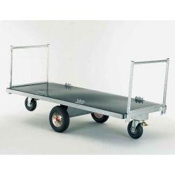 Chariot à fourrage pour balles et matelas