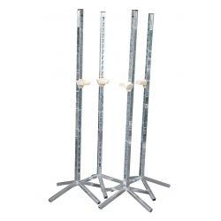 Chandelle acier galvanisée simple