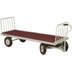 Chariot plateau à foin