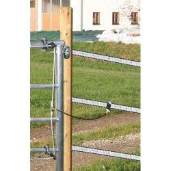 Système d'electrification des portails de pâtures