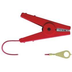 Cable pince de connexion cloture électrique