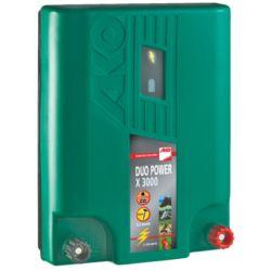 Electrificateur Duo 230v/12 v pour clôture des chevaux