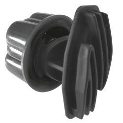 Isolateur de clôture a vis pour piquet diam 19 mm