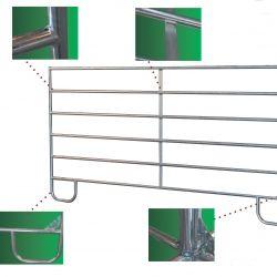 Panels galvanisé pour rond de longe et séparation