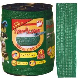 Ruban de clôture vert  gamme pro