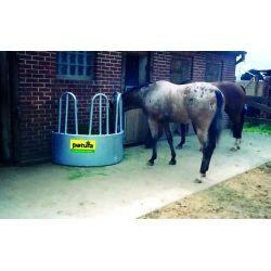 Râtelier quart de cercle pour chevaux